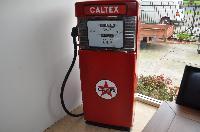 Caltex Petrol Bowser - Has Been Converted into a Fridge