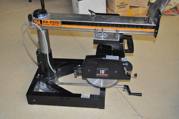 Ryobi Ra 2500 250mm Radial Arm Saw Item 25894 Yarragon Auction House Gippswares Secondhand Goods